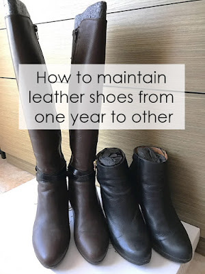 Leather shoes maintenance