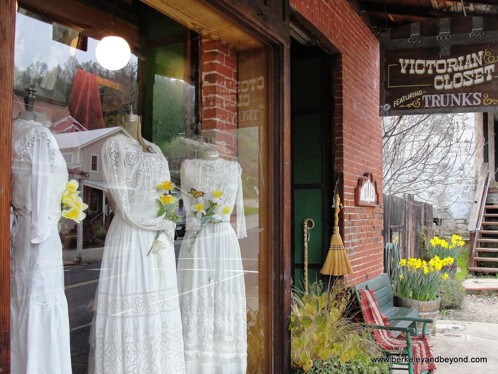 Victorian Closet in Amador City, California