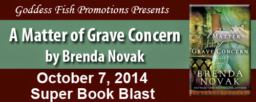 BOOK BLAST - A MATTER OF GRAVE CONCERN BY Brenda Novak