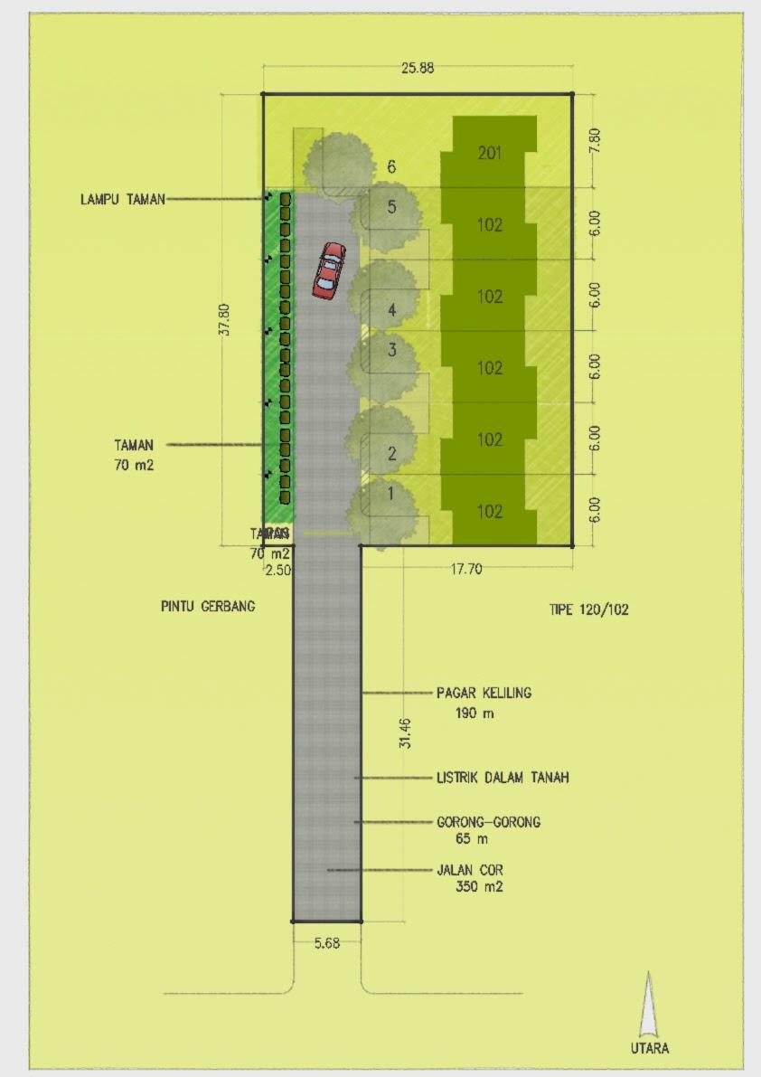 Site Plan Drawing