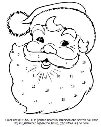 Sweet Bee Buzzings: Countdown to Christmas (A Printable)