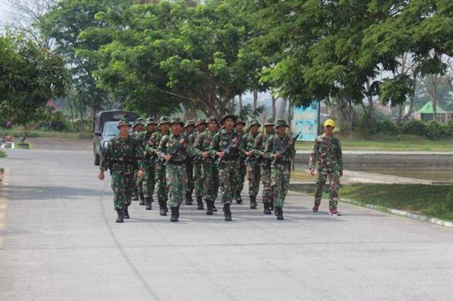 Menyambut Hari Juang Kartika Batalyon Kavaleri 8 Kostrad Latihan Peleton Beranting