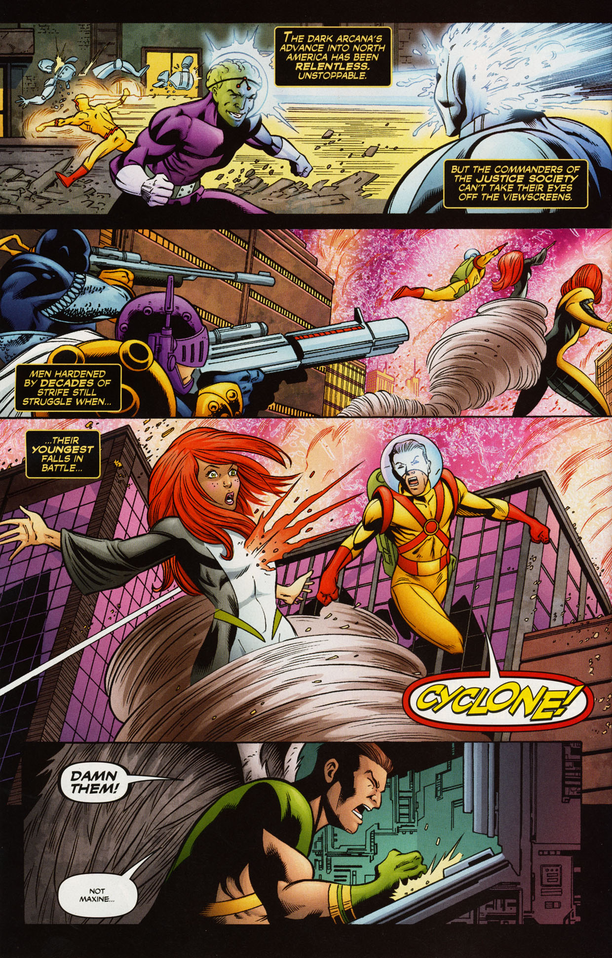 Read online Trinity (2008) comic -  Issue #38 - 20