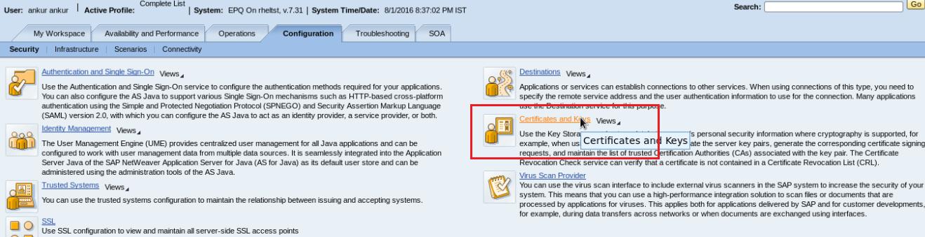 SSO configuration between SAP Portal 7 3 and ECC 6 0 Ehp 6 | SAP Basis