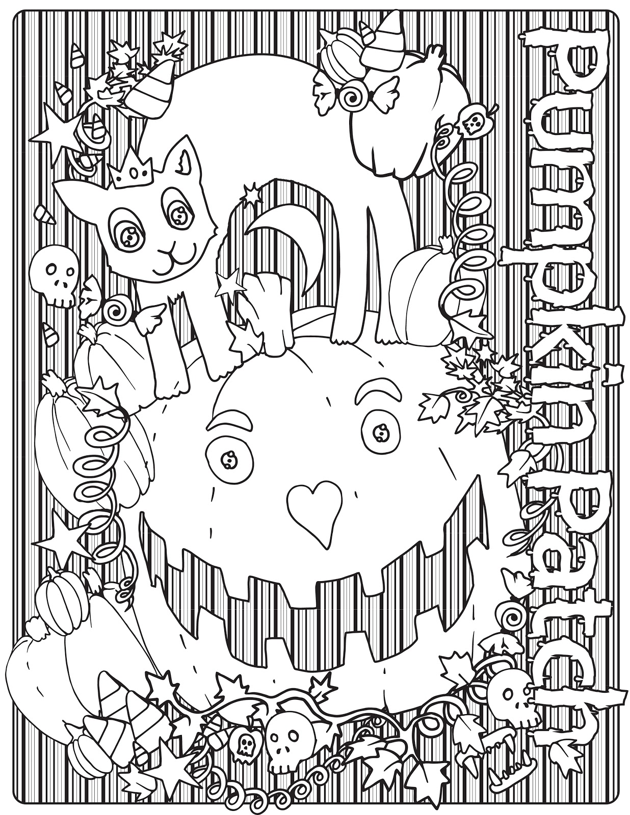 pumpkin patch tv past coloring contest