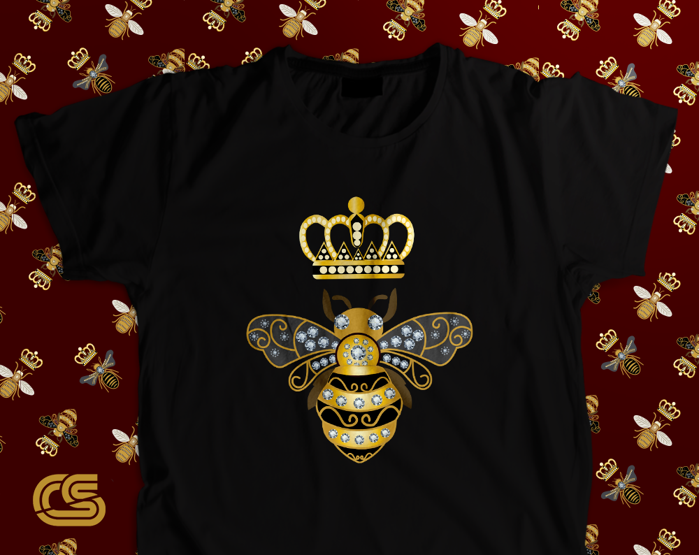 906e4af2215b Queen Bee Shirt - Vintage Gucci Shirt - Gucci inspired - Honey Bee Shirt - Gucci  Gang - Gucci Shirt - Gucci Clothing Unisex T-Shirt
