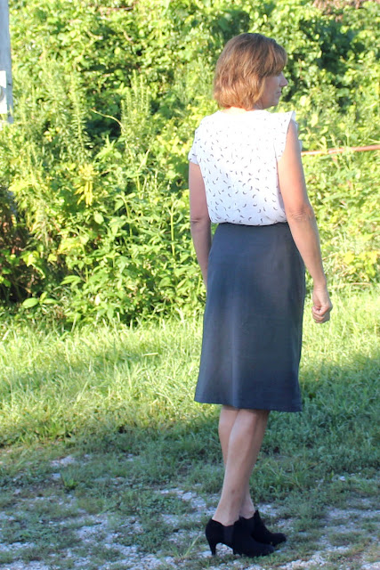 Indie Sew Fall skirt week - Nita Wrap skirt