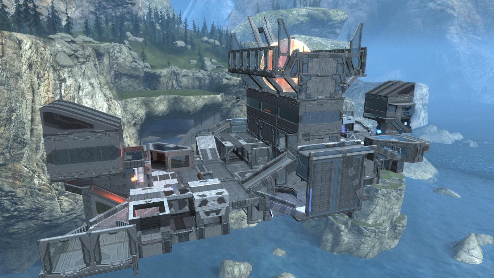 The gaming portfolio of Joe Walsh: Halo: Reach custom map 'Serenity'