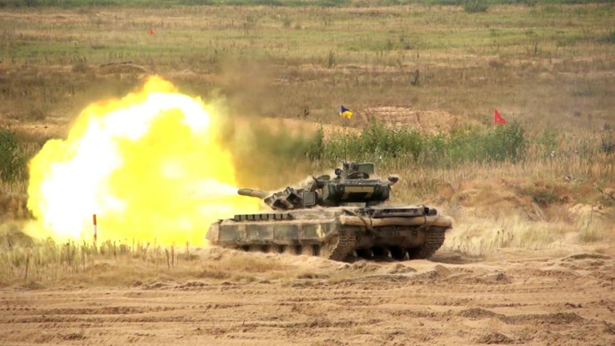 Найкращий танковий взвод ЗСУ