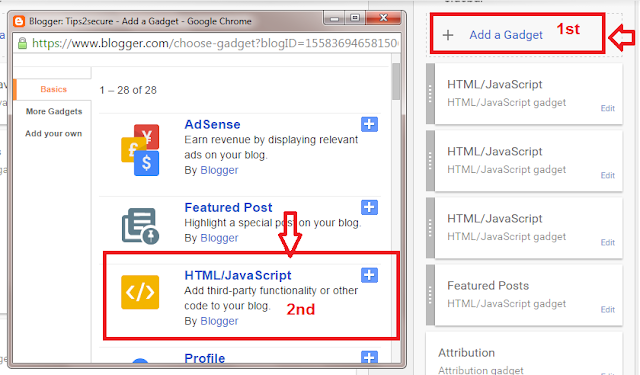 Adding code to blog to display page level ads on blog