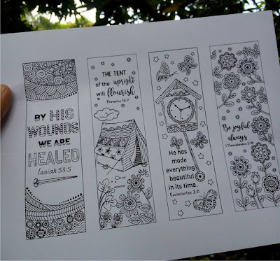 bible verse coloring bookmarks