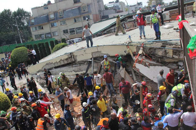 224 νεκροί από σεισμό 7,1 Ρίχτερ στο Μεξικό (βίντεο)