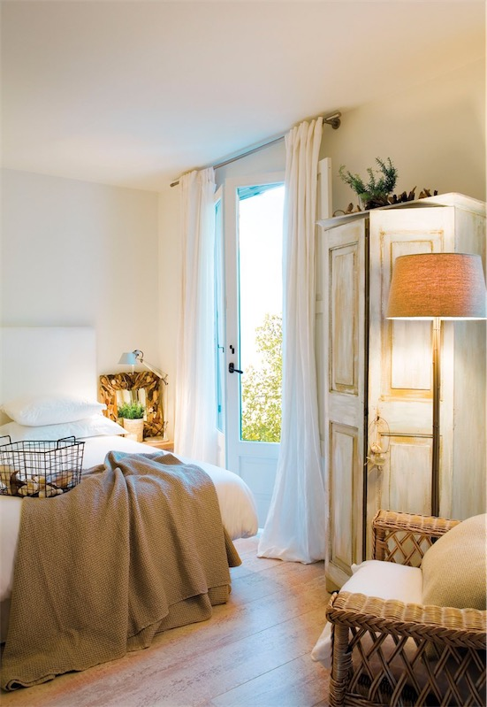 Un dormitorio de puro verano chicanddeco