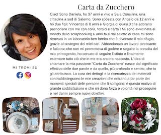 Biografia di Carta da zucchero - Daniela Izzo