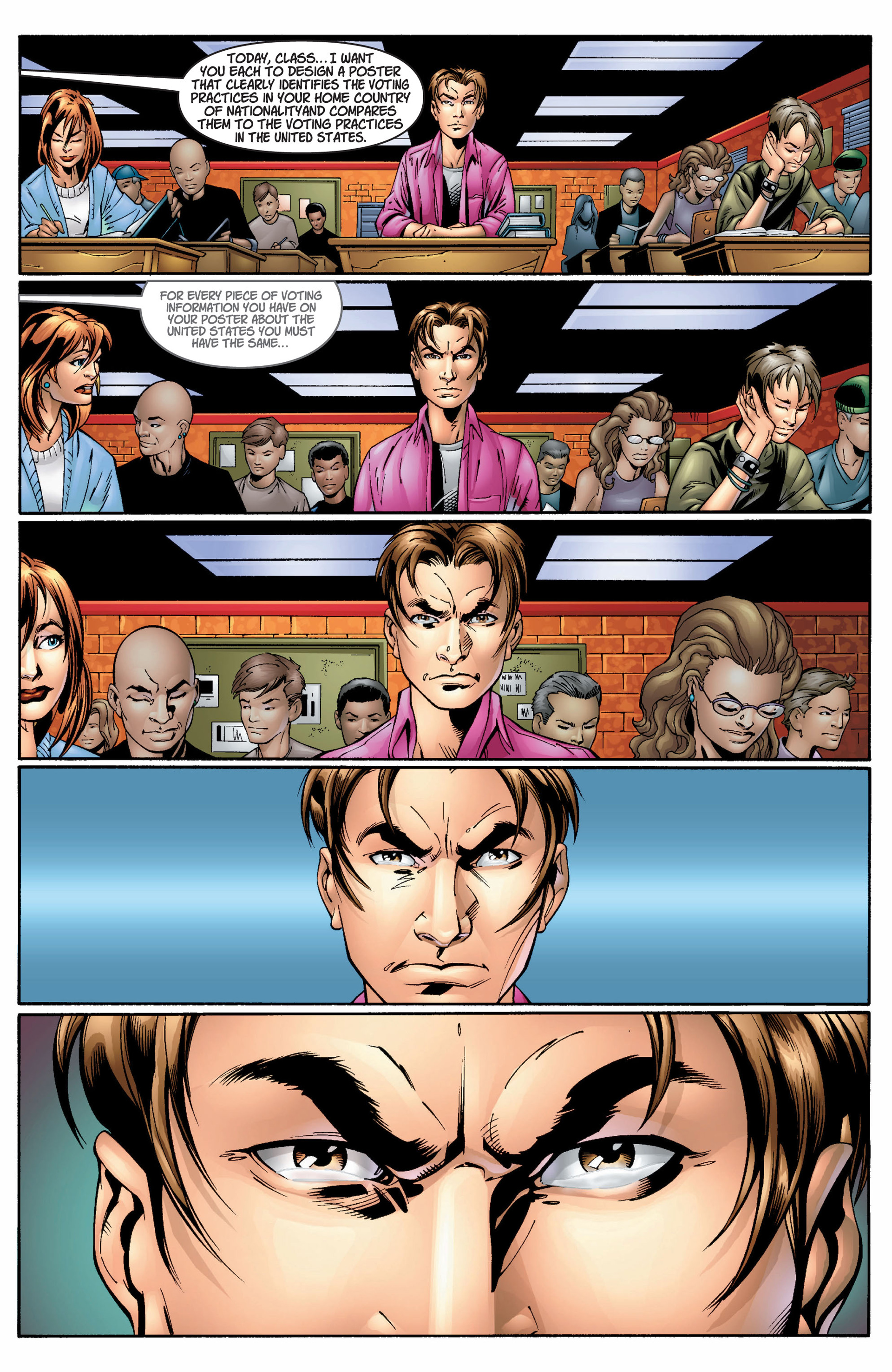 Read online Ultimate Spider-Man (2000) comic -  Issue #8 - 19