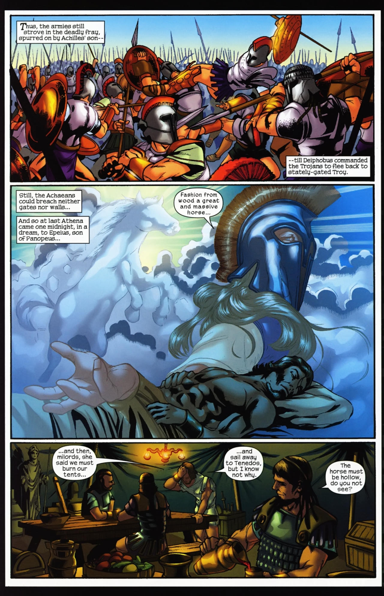 Read online Trojan War comic -  Issue #4 - 27