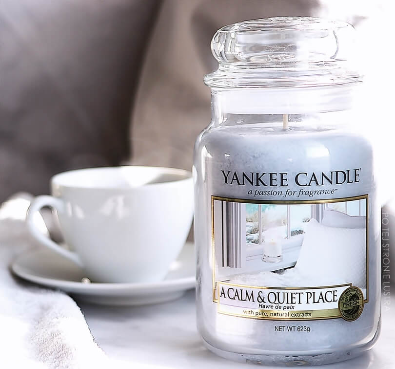 a calm & quiet place yankee candle q1 2018