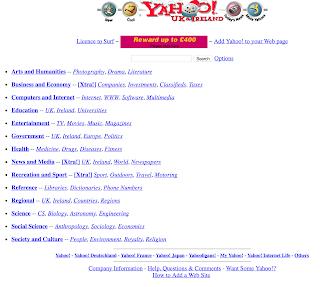 Yahoo Screenshot