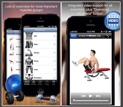 App Fitness & Bodybuilding