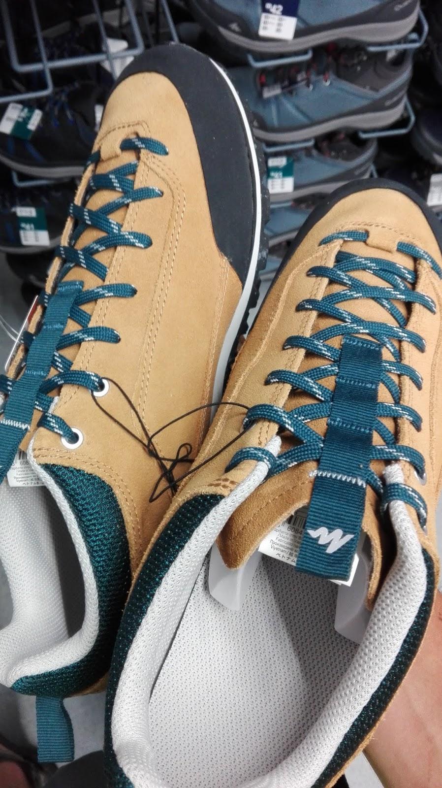 f05f4ec6 Podsumowując Quechua NH500 to dobre buty za śmieszna cenę. W kwocie 150 zł  wprost nie sposób znaleźć niczego tak trwałego, uniwersalnego i co więcej  ...