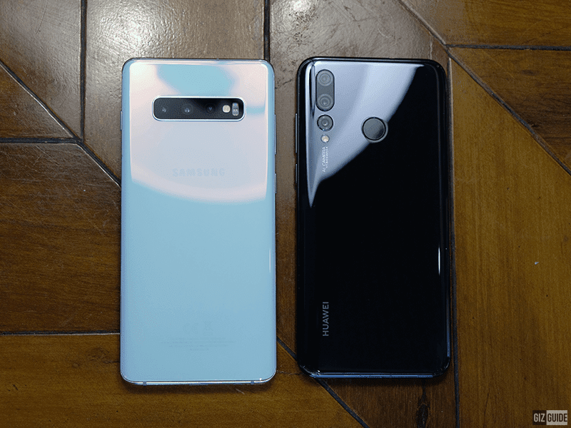 S10+ and Nova 4 back