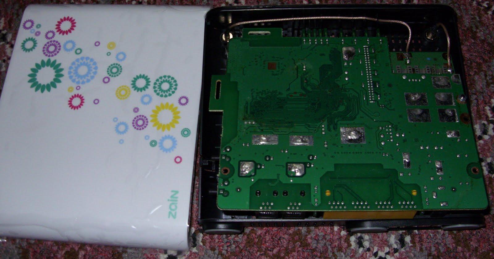 Root Shell (Bahrain): Zain@Home - New Zain Broadband 2 0