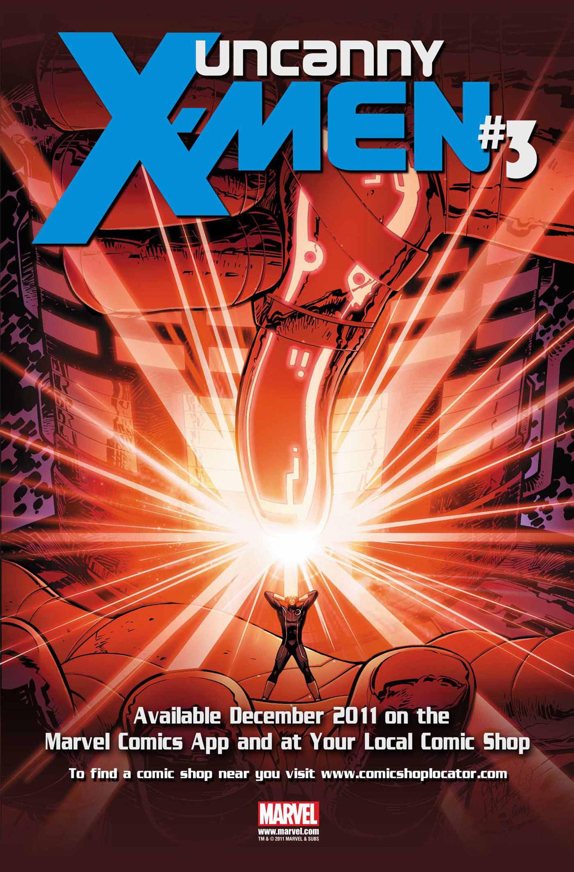 Read online Uncanny X-Men (2012) comic -  Issue #2 - 23