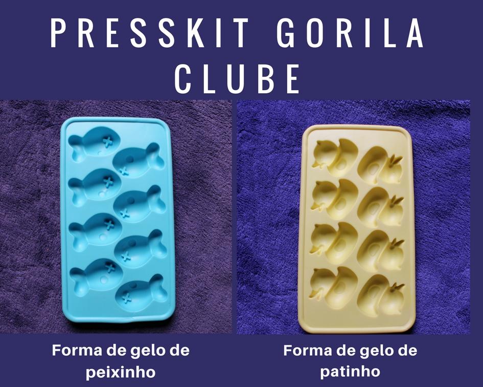 Presskit da Loja Gorila Clube