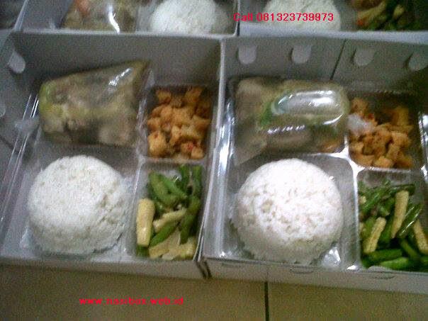 Nasi box varian di ciwidey