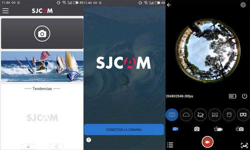 Apps for SJCAM sports cameras SJCAM ZONE
