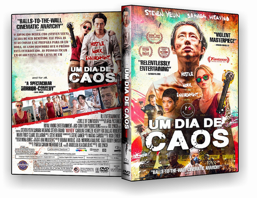 DVD-R Um Dia de Caos – AUTORADO