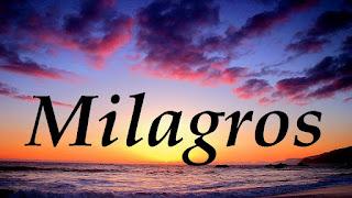 Milagros, Prodigios y Señales