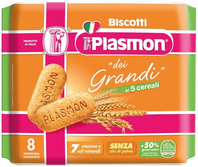 plasmon il biscotto dei grandi cinque cereali