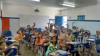 O Pequeno Príncipe Cia Cult Art teatro Santa Cruz do Capibaribe estudantes teatro infantil escola