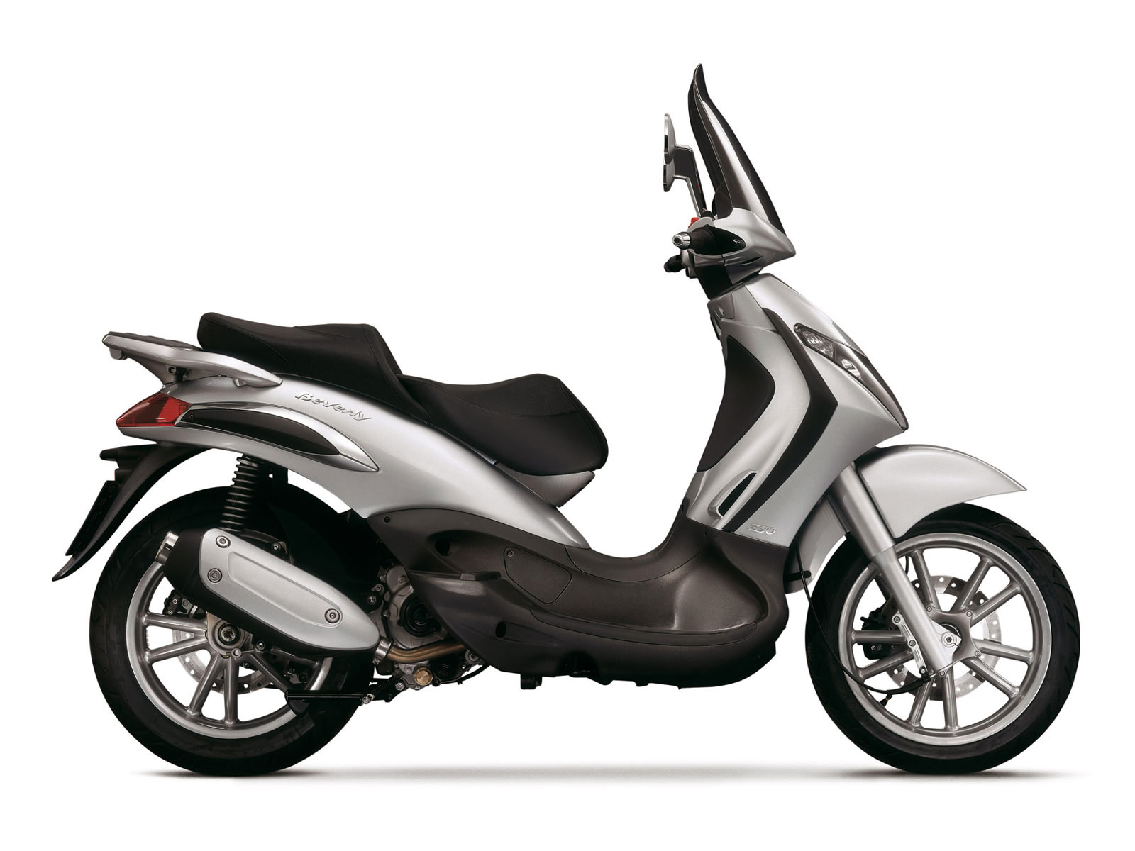 Piaggio Scooter Pictures 2007 Beverly 250 Specifications