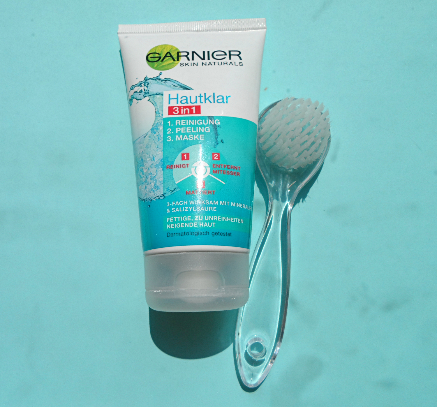 Ebelin Massage facial brush review garnier pure cleanse 3 in 1 review pictures