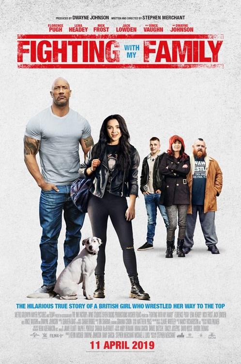 Review Filem Fighting With My Family