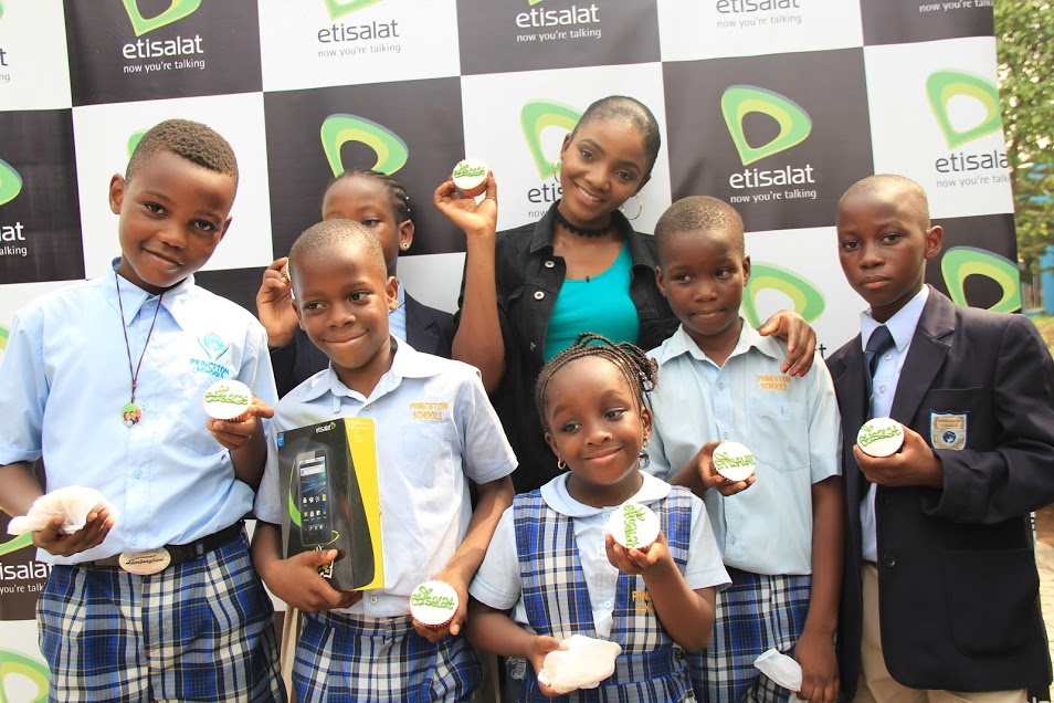 Image result for Etisalat shares love with adopted schools