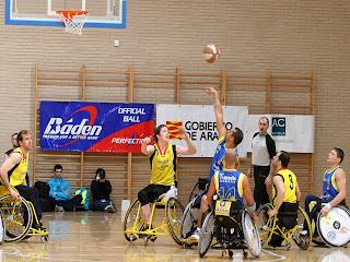 deportesinbarreras Baloncesto sobre ruedas