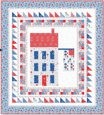 Quilt Inspiration: Free pattern day: Patriotic and flag quilts : flag quilts - Adamdwight.com