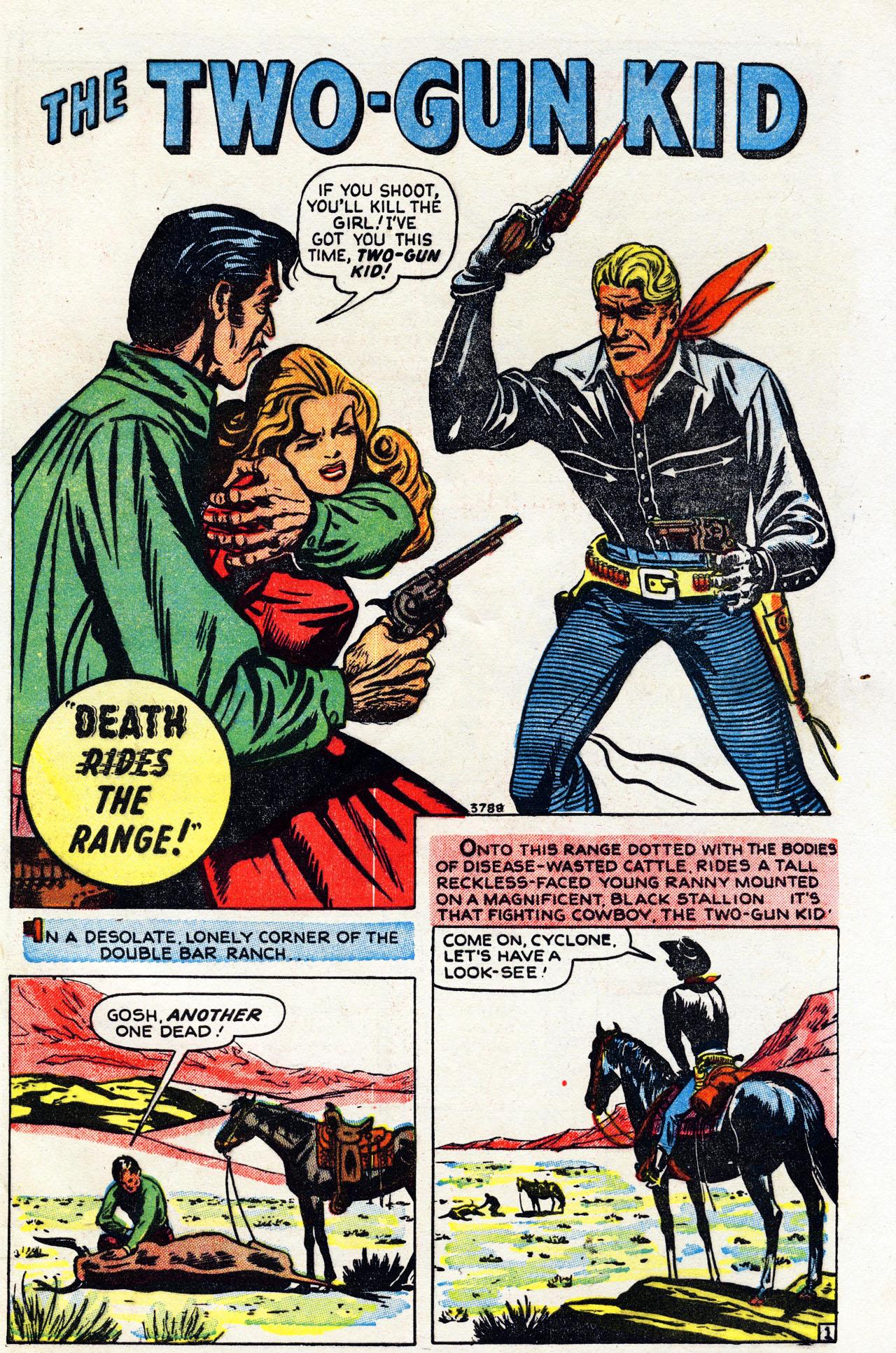 Read online Two-Gun Kid comic -  Issue #6 - 27