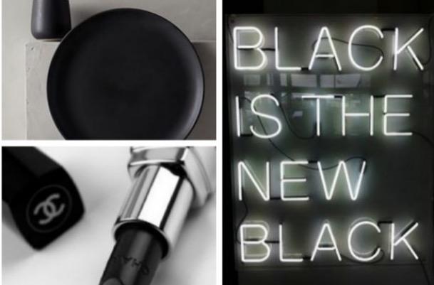 BLACK IS BACK. Un estilo que me encanta