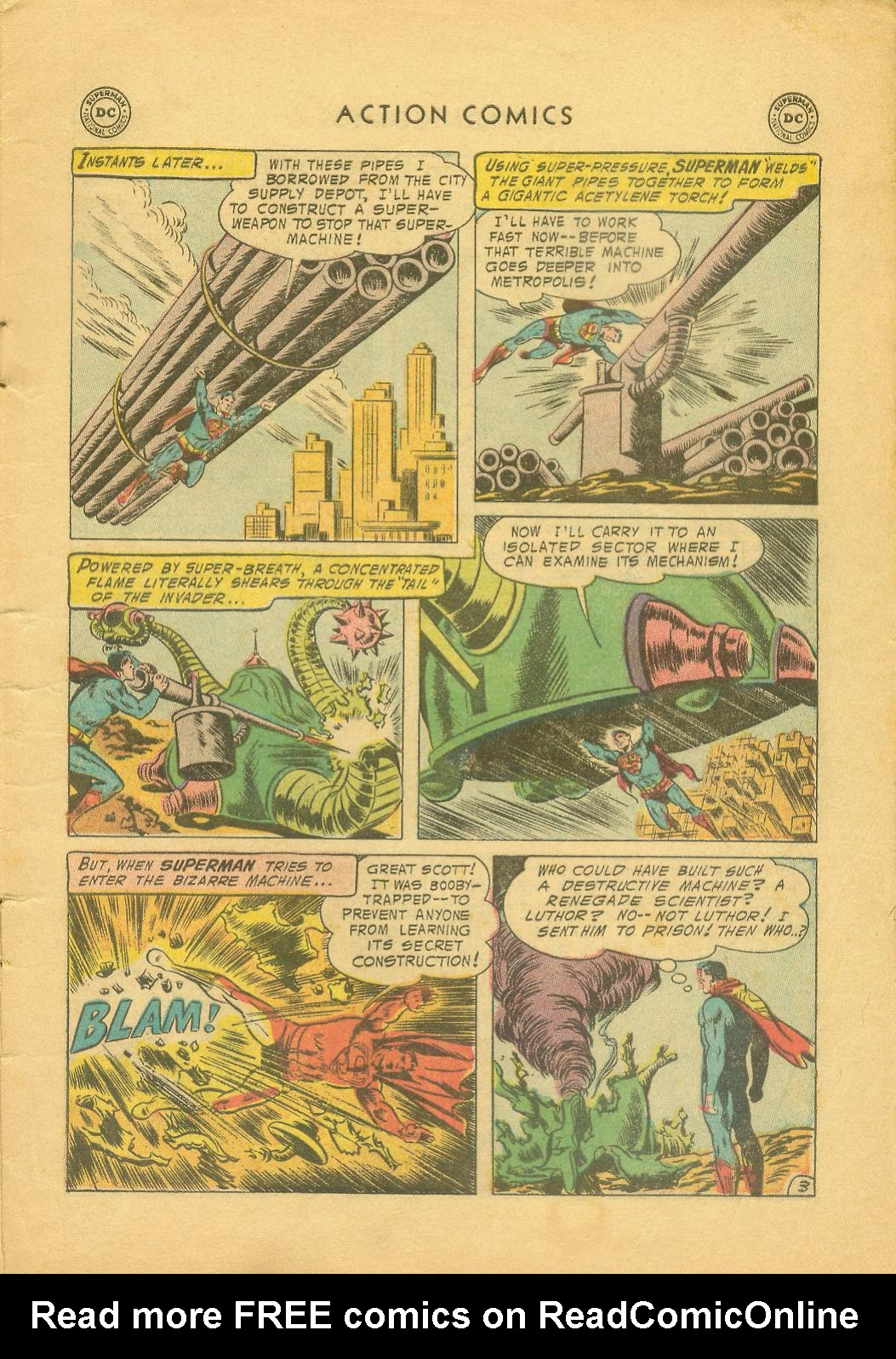 Read online Action Comics (1938) comic -  Issue #216 - 6
