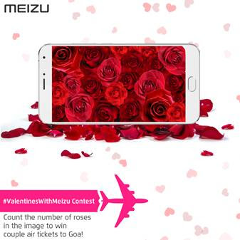 This Valentine 's Day Meizu is sending love birds to Goa by organising seven unique contests