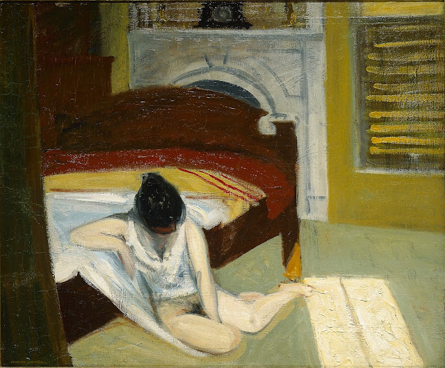 HOPPER - Interno estivo - sex art - nudo femminile