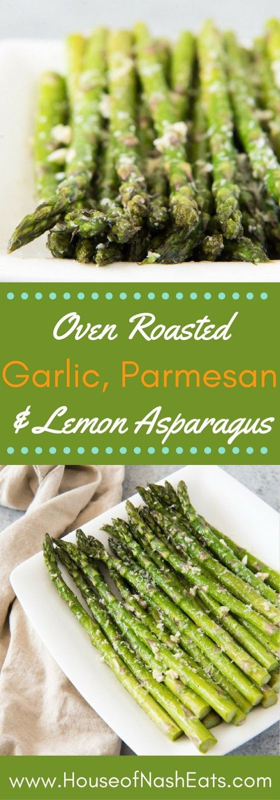★★★★☆ 5219 ratings       | OVEN ROASTED ASPARAGUS WITH GARLIC, PARMESAN, & LEMON #OVEN #ROASTED #ASPARAGUS #GARLIC #PARMESAN #LEMON