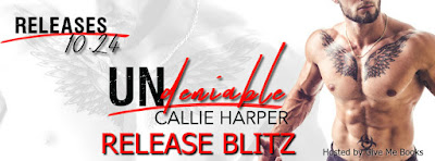 Release Blitz for Undeniable by Callie Harper with Giveaway!