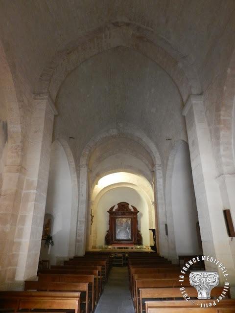 GOULT (84) - Eglise Saint-Sébastien (XIIe-XVe siècle)