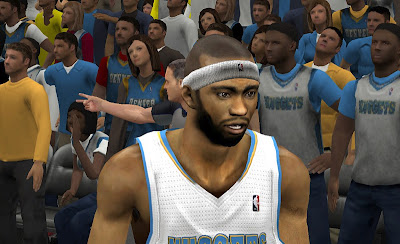 NBA 2K13 Mod Corey Brewer Cyber Face Update