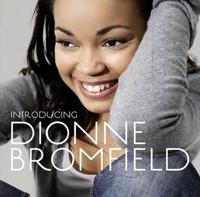 Foto de Dionne Bromfield en portada de disco